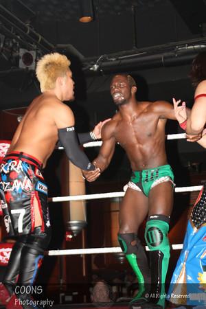 DGUSA 11/13/11 - Rich Swann & Chuck Taylor vs BxB Hulk & Akira Tozawa