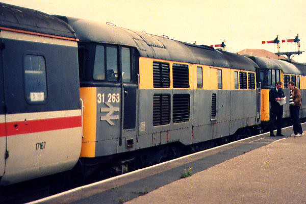 31263 at Blackpool North on the 18th September 1994