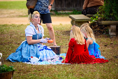 Alice's Tea Party with Kids