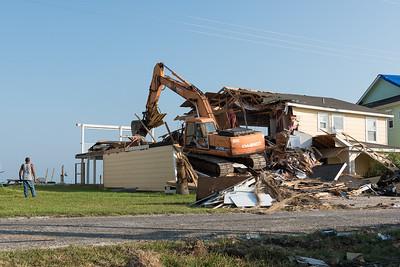 Hurricane Harvey  Rockport Teardown