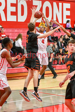 2018 CHS Boys Basketball - CR Prairie