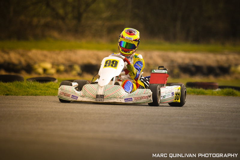 Leinster Karting Club - 2019/20 Winter Championship - Round 5 - Alyx Coby