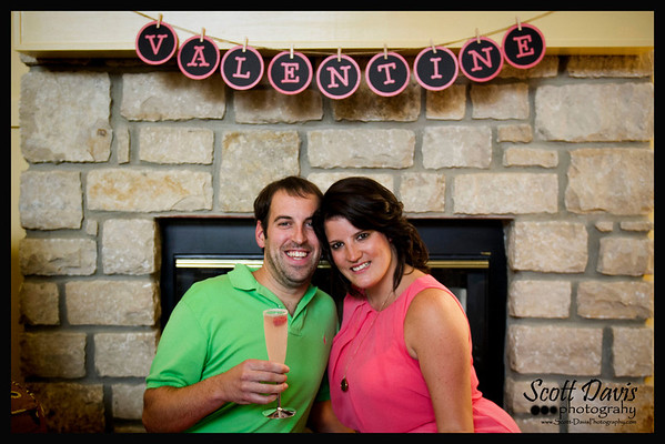 Brad Valentine and Amanda Trantham Wedding Shower 8-31-13