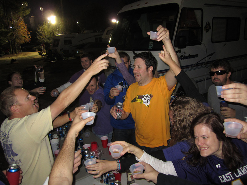 11/19/2011 ECU vs University of Central Florida - Preston