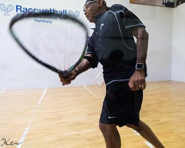 Masters 50+ James Johnson (USA) over Niklaas Deboutte (BEL)