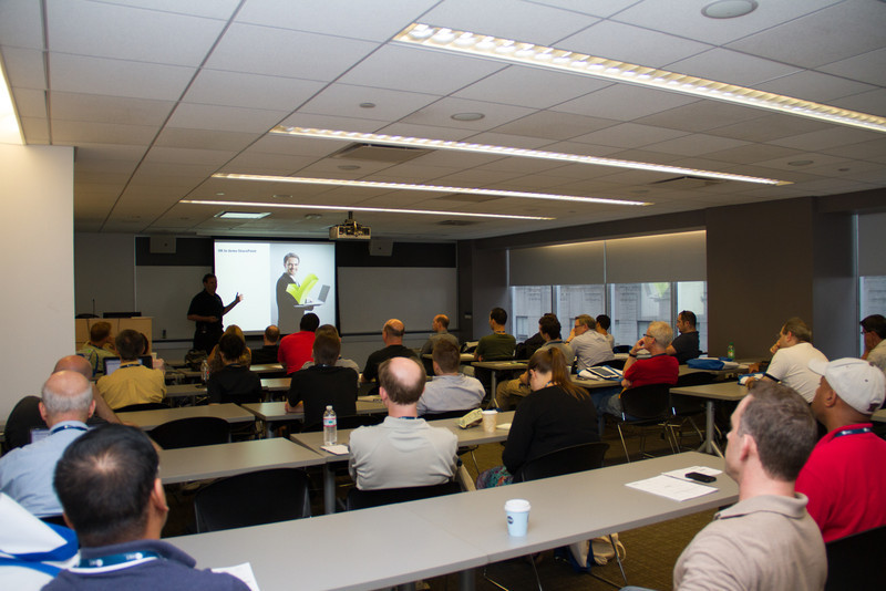 Ruven's presentation was packed and there were many great questions.  Well done!