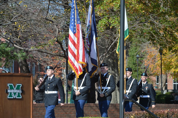 11.11.16 Veterans Day Service and Ribbon Cutting