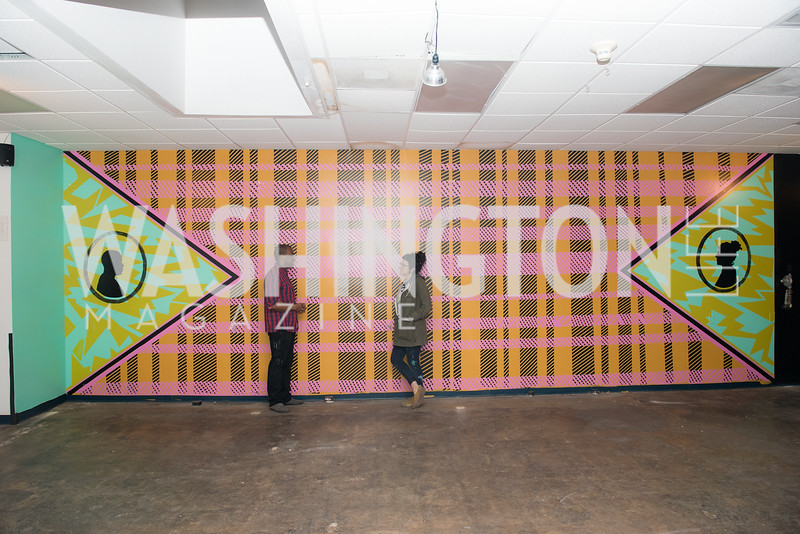 No Kings Collective, UMBRELLA 14, VIP Preview, April 11, 2019, photo by Ben Droz.