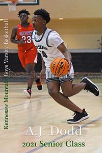 KMHS Basketball Seniors 2021