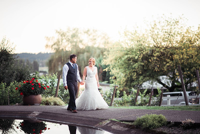 Delille Cellars Wedding | Brian and Ashlee | Seattle Wedding Photographer