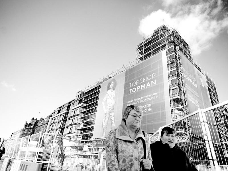 Topshop Women - Edinburgh - Shooting from the Hip