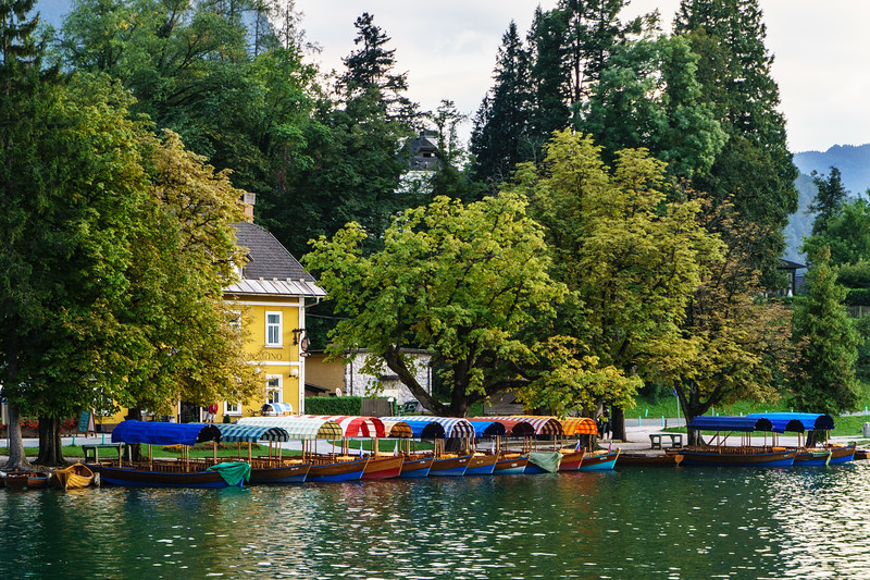Slovenia: Lake Bled Boats