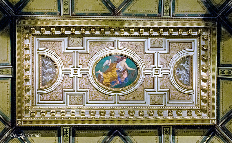 Ceiling art in the Vienna opera