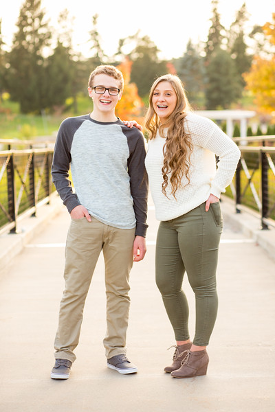 Lindsey and Alex- High School Seniors