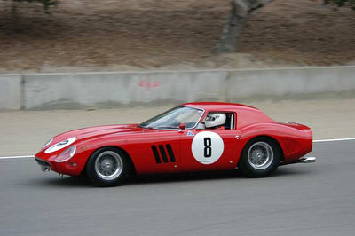 2004 Monterey Historics Laguna Seca Ferrari Featured Marque