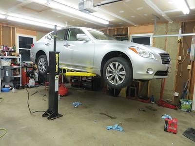 60518 mi driveline and brake fluid changes