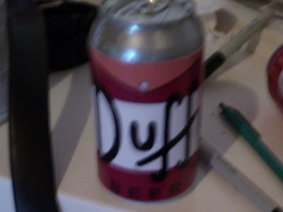 Halloween 2006 - The Making of a Super Hero - Duff Man