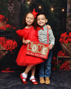 Izabella & Mason Valentine's Day 2021