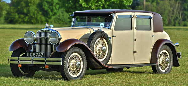 1929 Stutz Type M Straight-Eight Weymann pattern Sports Saloon by Lancefield UX5457