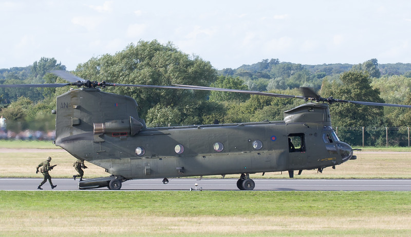 Boeing, Chinook, Chinook HC2, RAF, RAF Role Demonstration, RIAT 2007, Royal Air Force, ZA705
