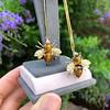 Vintage Bee Conversion Earrings 26