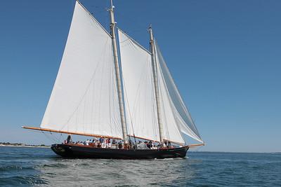 Schooner America Under Sail 8/18/16