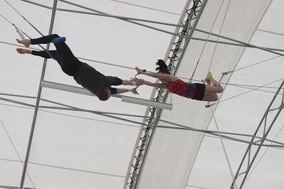 Mothers Day on the Trapeze