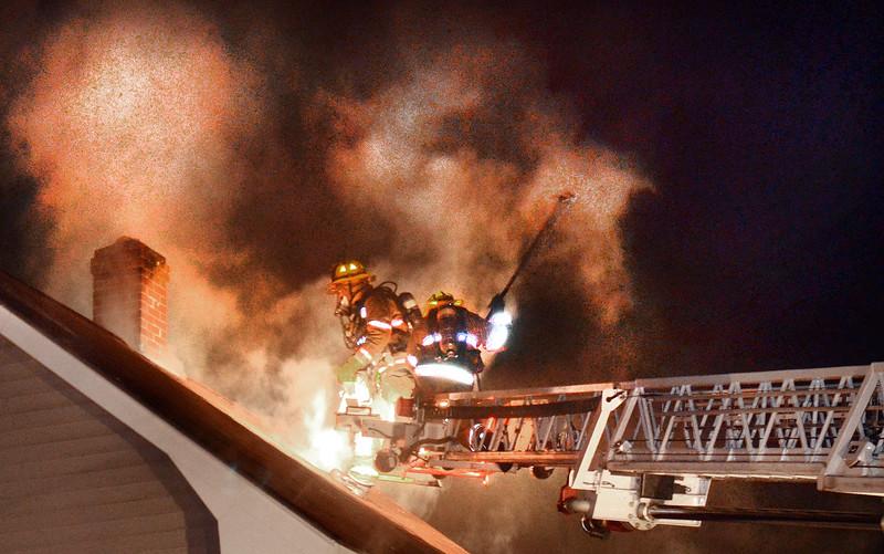 Spring Street Lewiston fire