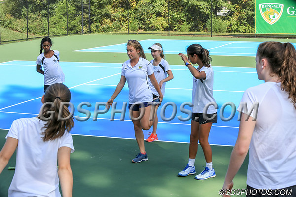 JV GIRLS TENNIS VS. SUMMIT SCHOOL  10-01-2018