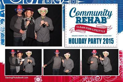 Community Rehab Holiday Party 2015