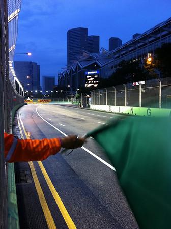 Singapore GP-Track familiarization day (23 Sep 2010)