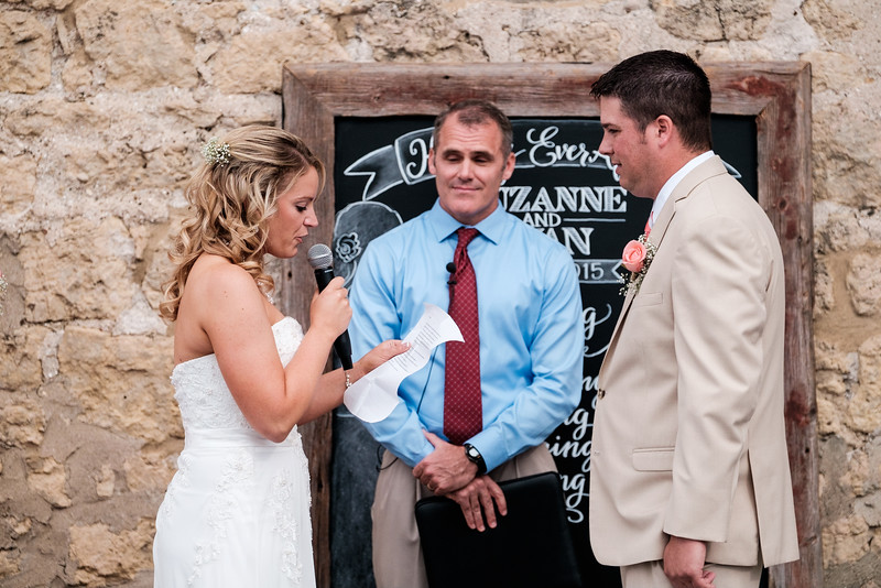 Prairie St. Brewhouse Wedding Dock Ceremony