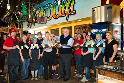 Freebirds World Burritos - Ribbon Cutting Ceremony - Sandy Area Chamber of Commerce