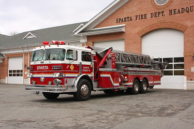 Sparta Fire Department  Jan , 2014