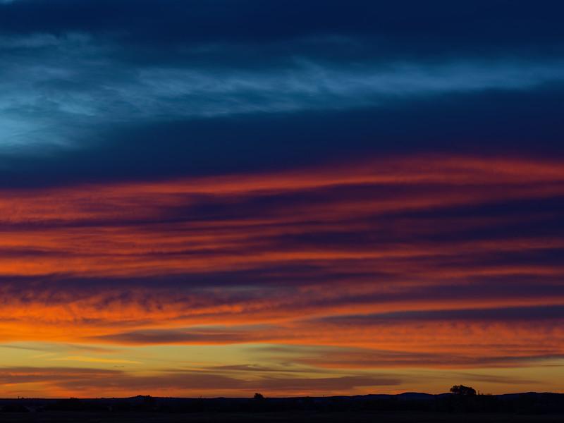 November 4, 2017 sunrise.