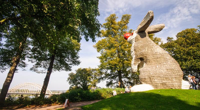 The Nijmegen Lookout Rabbit