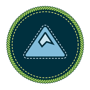 Camp Madeupponaspotta Badges