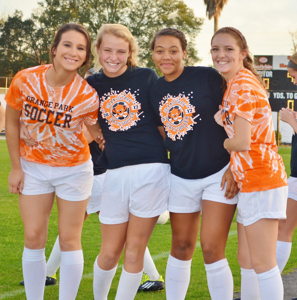 Women's Soccer Senior Night