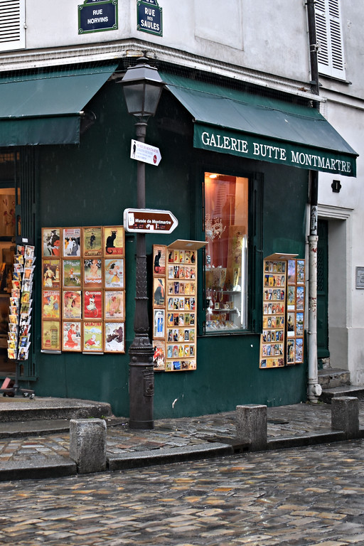 Galerie Butte Montmartre in Paris, France