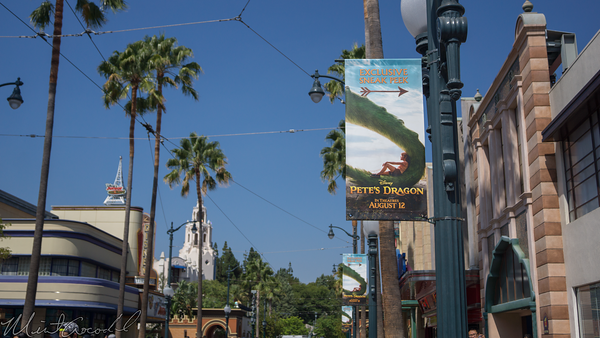 Disneyland Resort, Disney California Adventure, Sunset, Showcase, Theater, Petes, Dragon