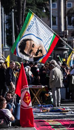 Libertà per Ocalan Protest 16 february 2020