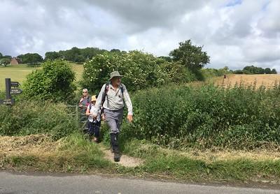 Sarah's Walk - Chinnor Hill 170618