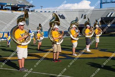 August 15, 2015 - WVU Band Camp