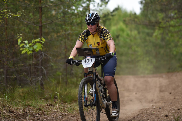 SM-pyöräsuunnistus, Hämeenkyrö 9.-10.6.2018