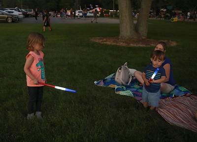 Elburn fireworks night