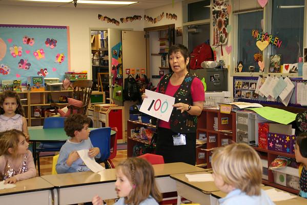 100 Days of Kindergarten Celebration