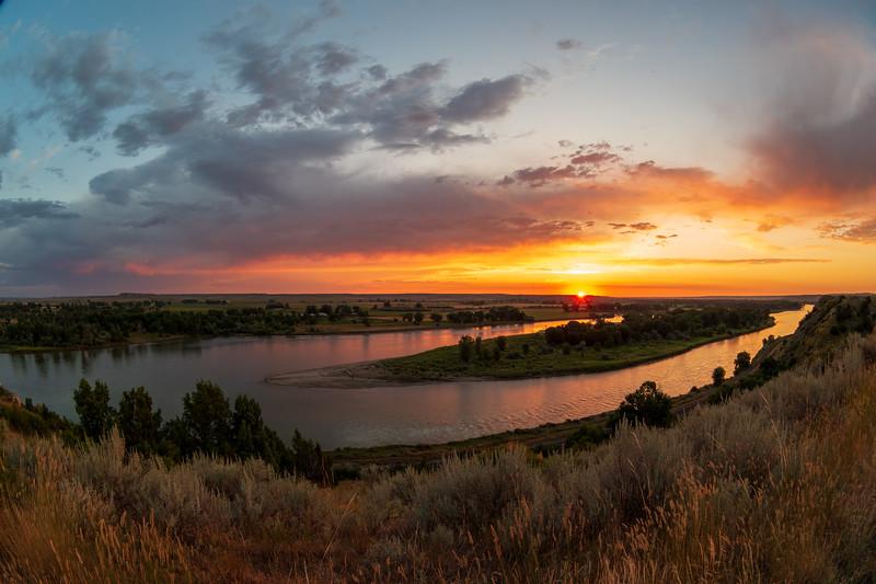 Hathaway, MT Summer Sunrise