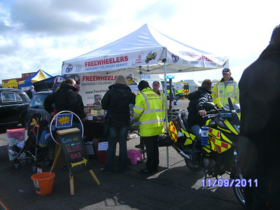 Emergency Services Show, Hullavington, September 2011