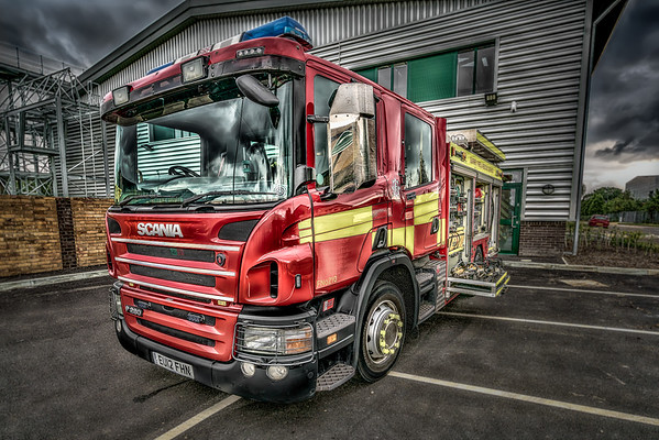Surrey Fire Department UK
