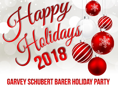 GSB Law 2018 Holiday Party